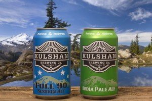 New Kulshan can brewing products