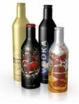 Premium aluminium bottles